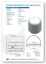 1207 Litre Bipropellant Tank Brochure