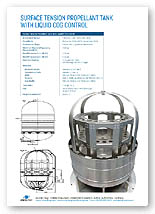 198, 282, 331 Litre Bipropellant Tank  with Liquid C of G ControlBrochure