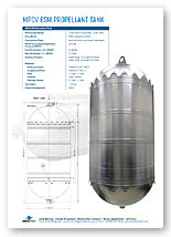 2100 litre bipropellant tank Brochure