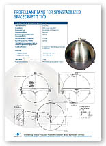 218 litre propellant tank brochure