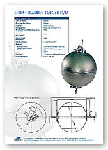 58 Litre Bladder Tank Brochure