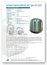 700 to 1108 Litre Bipropellant Tank Brochure
