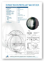 769 Litre Bipropellant Tank Brochure